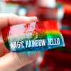 Magic Rainbow Jello