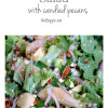 Gorgonzola Pear Salad With Candied Pecans