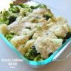 Swiss Cheese broccoli cauliflower sidedish