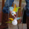 Turkey Marionettes - Thanksgiving kid craft