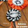 Witchy Awards - free Halloween printable