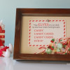 Shadowbox Printable - Christmas edition (free)