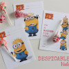 Despicable Me 2 Valentines (free printable)