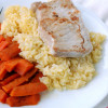 Pork Chops with Orange Rice