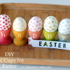 DIY stained egg cups (with free silhouette file)
