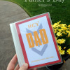 Father's Day photo book gift idea (free printables)