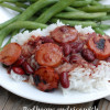 Red beans and rice, the easy way