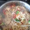 Thai noodle stir fry