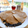 How to make message pancakes