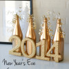 NYE free printable and centerpiece