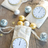 New Year's Eve - free printable (midnight clocks)