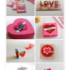 Valentine's Day paper crafts