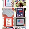 United States Flag print + a printable bloghop