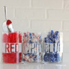 Easy DIY candy buffet for the 4th of July