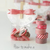 How to make a washi tape bow