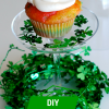 Easy Rainbow Cupcakes with cupcake toppers
