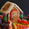 Halloween Candy Houses