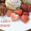 A heart-y breakfast