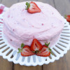 Fresh Strawberry Cake