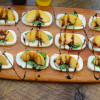 Peach Caprese Salad Appetizer