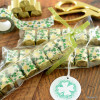 St. Patrick's Day Printables with wrapped Chocolate Nuggets