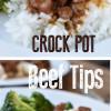 Easy Crock Pot Beef Tips