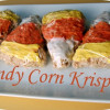 Candycorn Rice Krispie Treats