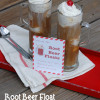 Root beer float party invite (free printable)