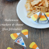 Halloween crackers and cheese (free printable)