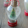 DIY: mini snow globe ornament
