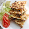 Steak fajita style quesadillas
