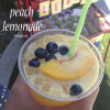 Fresh peach lemonade recipe