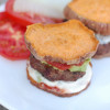 Sweet Potato Sliders with homemade ketchup