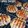 Mango mint turkey burgers