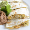 Green Chicken Chili Quesadilla - Bajio's copycat recipe