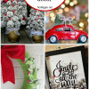 25+ easy DIY Christmas decor