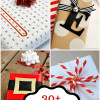 30+ Christmas Wrapping Ideas