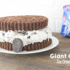 Giant Oreo Cookie Ice Cream Cake