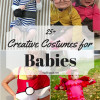 25+ Creative Costumes for Babies