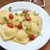 Four Cheese Ravioli Hearts