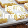 Best Ever Lemon Bars