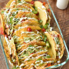 Crock Pot Chicken Baked Tacos