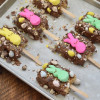 Peeptastic Krispie Treats