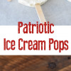 Patriotic Ice Cream Pops