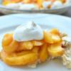 Peach Soda Cracker Pie