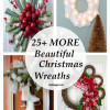 25+ More Beautiful Christmas Wreaths