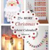 25+ MORE Christmas Advent Calendars