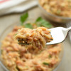 Cheesy Italian Herb Orzo