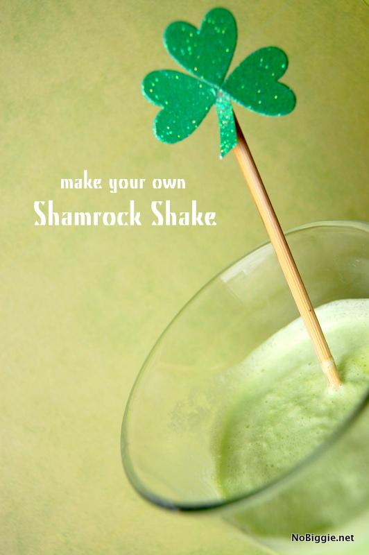 make your own shamrock shake - NoBiggie.net