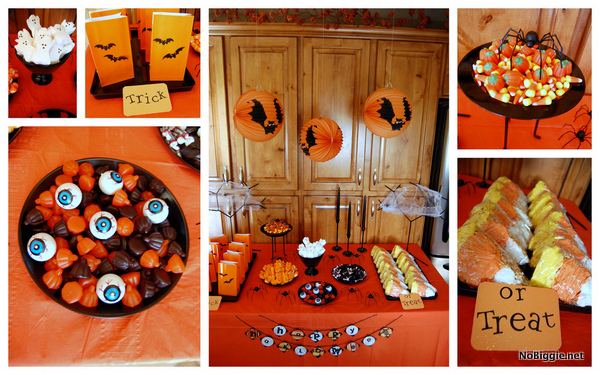 Halloween candy table ideas - NoBiggie.net
